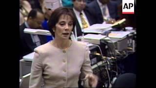 USA: OJ Simpson Trial: Prosecution Closing Argument - 1995