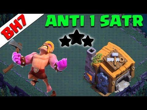 Best BH 7 (Builder Hall 7) Base 2018 Design Anti 1 Star Anti 2 Star Anti All Coc | Clash Of Clans
