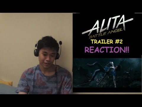 Alita: Battle Angel Official Trailer #2 (REACTION!!!)