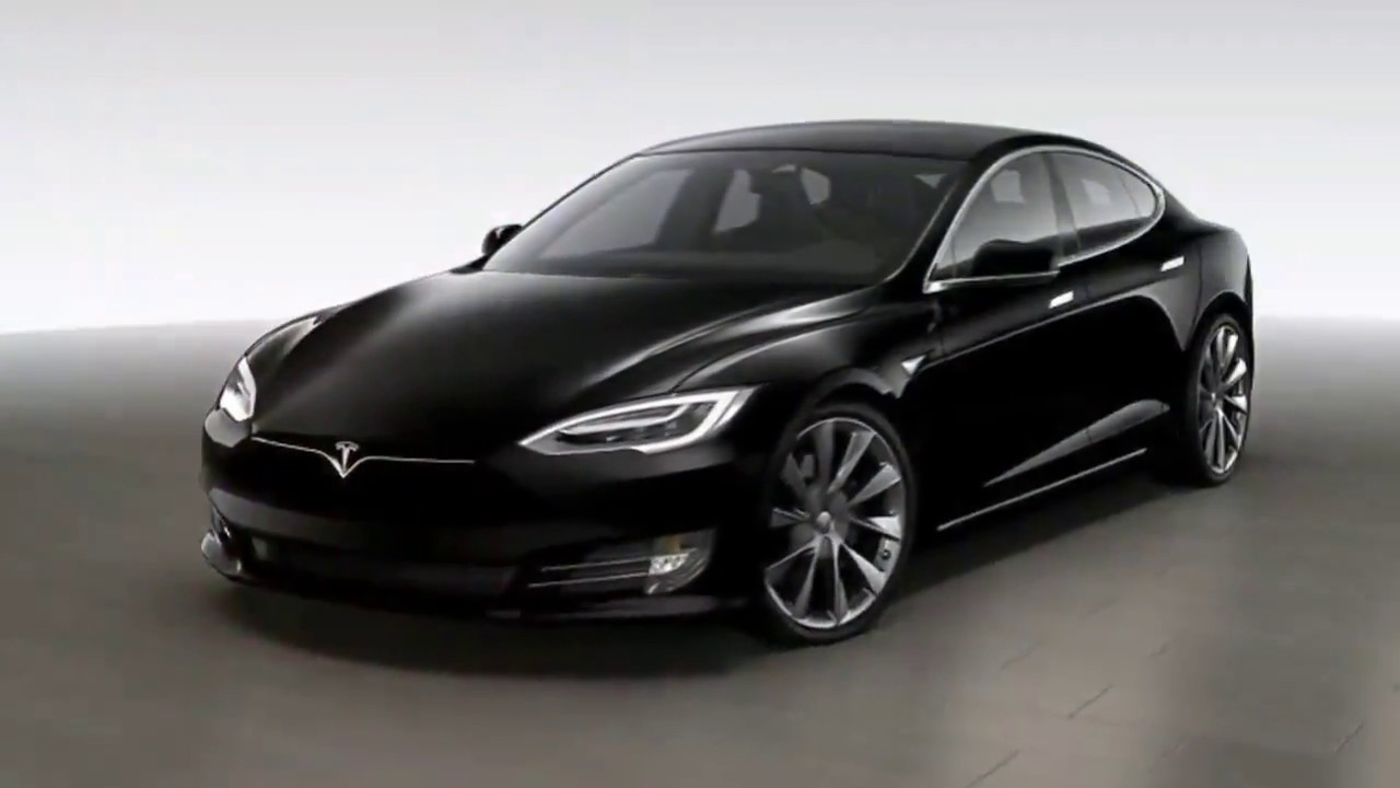 "AMAZING..!!! New Tesla 21"" Model S - Sonic Carbon Twin ..."