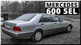 """Mercedes 600SEL V12 """"Locha"""" - Symbol Epoki (W140)"""