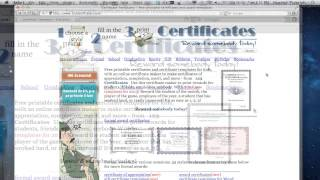 How to Create Printable Award Certificates Online