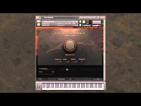 Symphony Series - String Ensemble: Customizing your setup