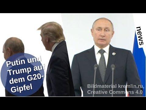 Putin und Trump auf dem G20-Gipfel