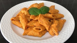 Creamy Red Pasta | Smoky Red Bell Pepper Sauce
