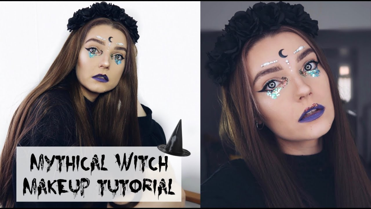 Mythical witch halloween makeup tutorial lovefings youtube mythical witch halloween makeup tutorial lovefings baditri Images