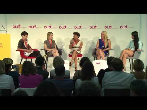 DLDwomen 2012 - Reality Check: Women in Tech (Mei, Wood, Molland, Leahey)