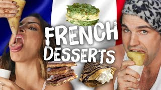 Americans Try French Desserts (Cheat Day)