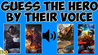 Identify the heroes by their voice and Quotes • Mobile Legends Quiz # 19 screenshot 1