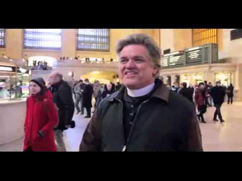 Reverend Billy Arrested for protest