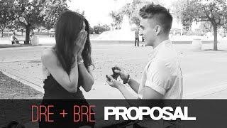 The Proposal | Dre and Bre Romantic Surprise Proposal
