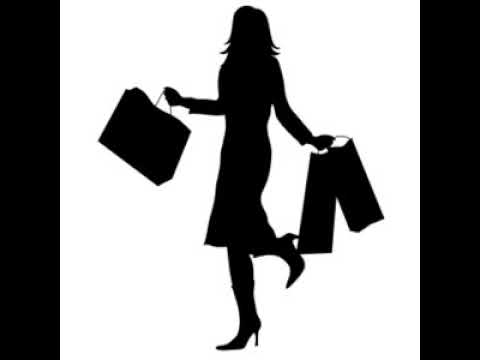 Shopping Clipart Woman With Shopping Silhouette 0515 0911 2800 5229 SMU
