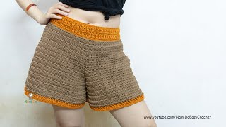 Easy Crochet for Summer: Crochet Shorts #01