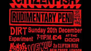 Rudimentary Peni - Live At the Venue 20-12-92 [Full Album]