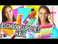 Back to School Supplies Haul 2015 Giveaway