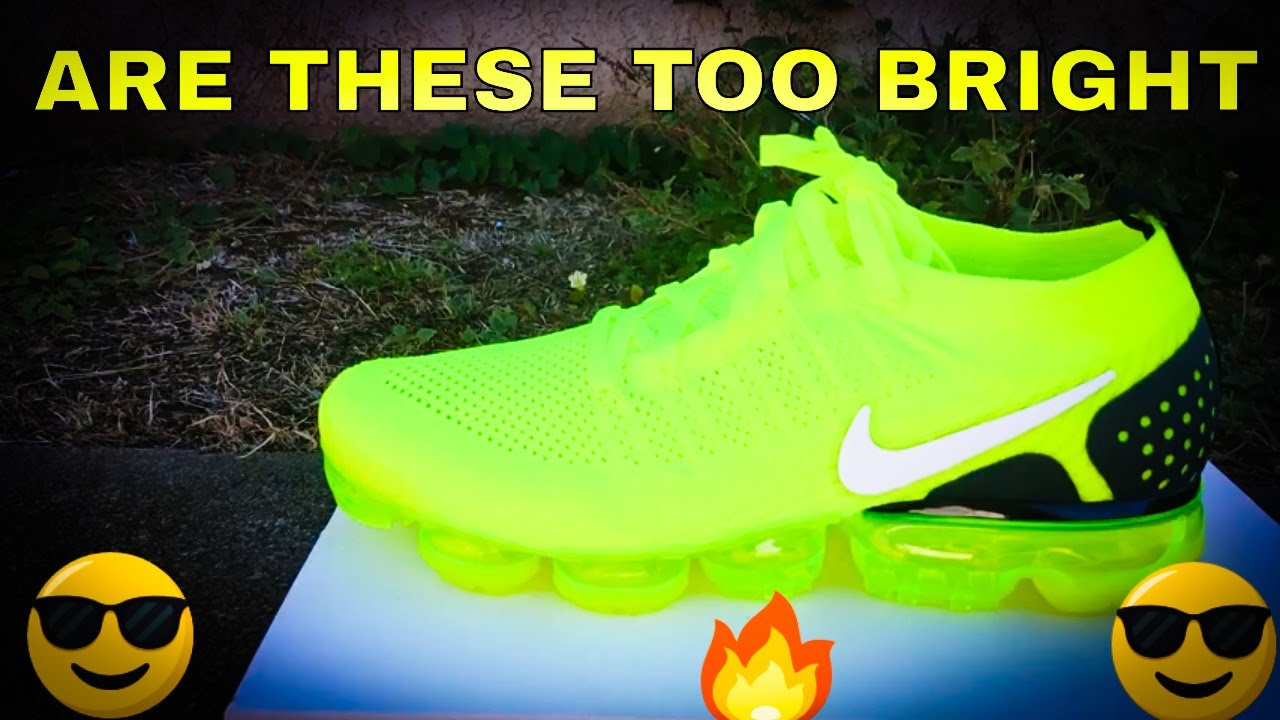 Nike Air Vapormax Flyknit 2 Volt Review - YouTube 19fe01adf