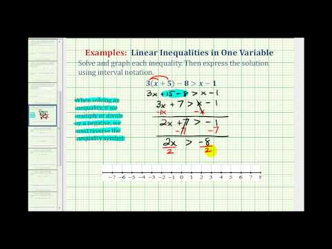 Solve Inequalities | Beginning Algebra