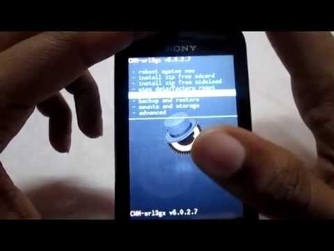 Install Kitkat ROM on Sony Xperia Tipo