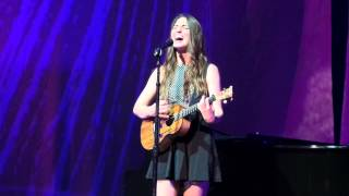 Sara Bareilles Little Black Dress Tour Chicago(8) Chandelier (Sia Cover)