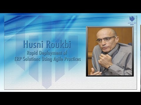 Rapid Deployment of ERP solutions using agile practices by Husni Roukbi
