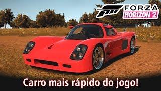 Carro mais rápido do jogo!? Ultima GTR! Top Speed e tuning! | Forza Horizon 2 [PT-BR]