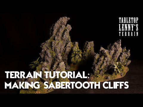 Terrain Tutorial: Making Rocks Of Styrofoam