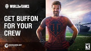 World of Tanks Soccer - Get Buffon for Your Crew