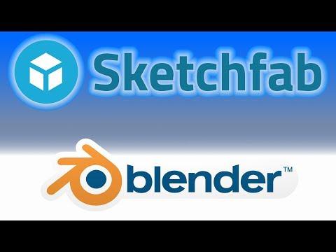 Blender Gets SketchFab Support - YouTube