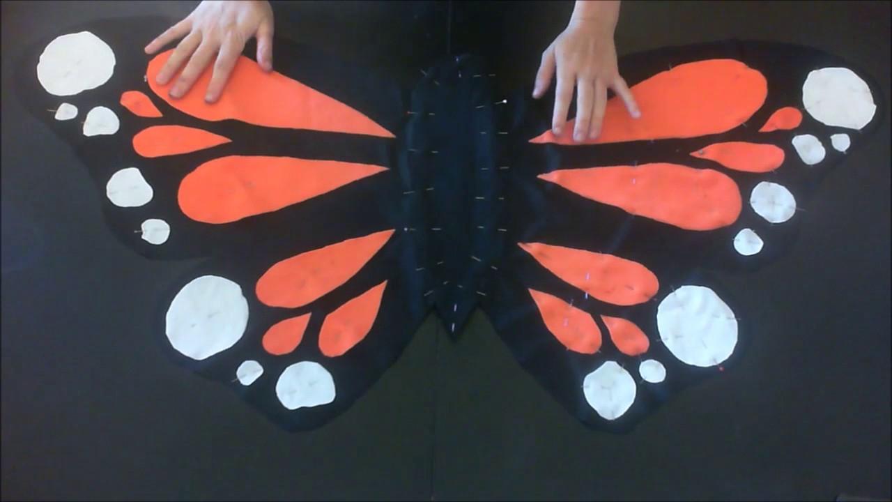 diy costume express de papillon express costume of butterfly - Image De Papillon