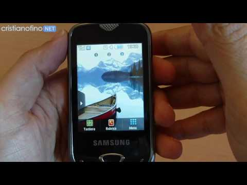 Samsung Pocket 3G S3370 Video Review - cristianofino.NET