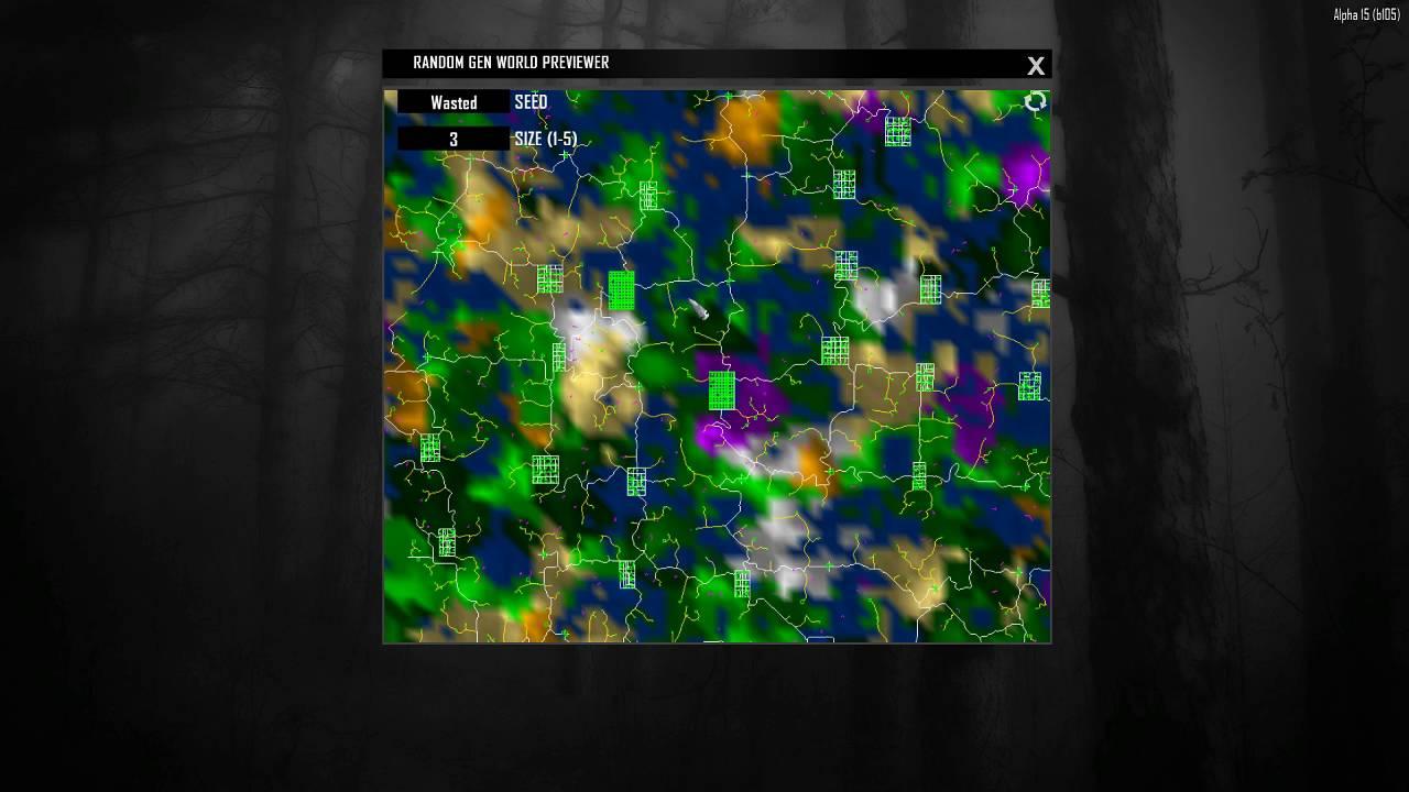 7 days to die alpha 15 map tutorial youtube