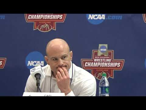 Cael Sanderson talks about Penn State winning the team title
