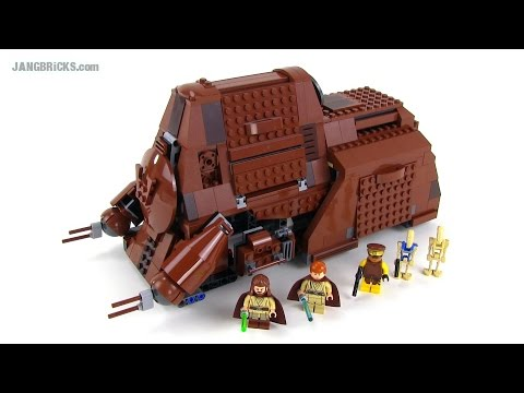 LEGO Star Wars MTT 2014 edition review! set 75058