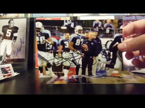 NFL TTM return / recap. Music City Miracle hero: Kevin Dyson