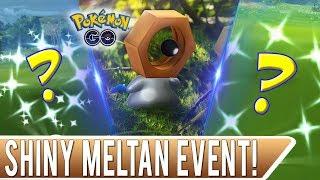 Shiny Meltan Event In Pokemon Go! Wifey Got Two Shiny Pokemon In 10 Minutes!
