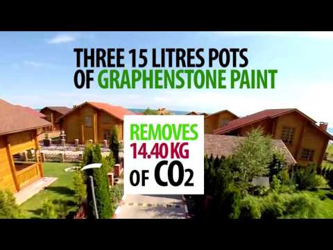 Graphenstone - Greener cities with the paints for the Green generation