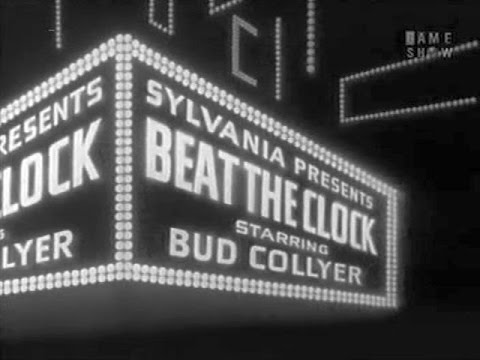 BEAT THE CLOCK with Bud Collyer Oct 18, 1952