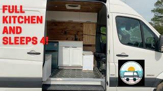 Full Van Conversion. Sleeps FOUR Comfortably!