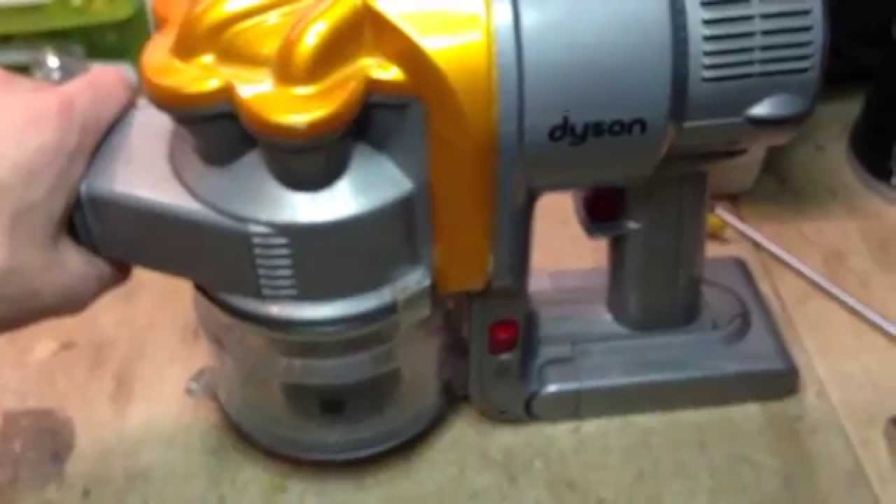 dyson dc16 quick teardown and motor test why the battery lasts so little youtube. Black Bedroom Furniture Sets. Home Design Ideas