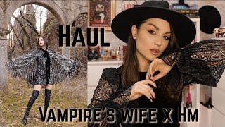 HAUL & LOOKBOOK Vampire´s Wife x Hm | Dirty Closet