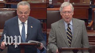 WATCH LIVE: McConnell, Schumer speak on Senate floor amid impeachment standoff, Soleimani strike