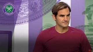 Roger Federer 4R Press Conference