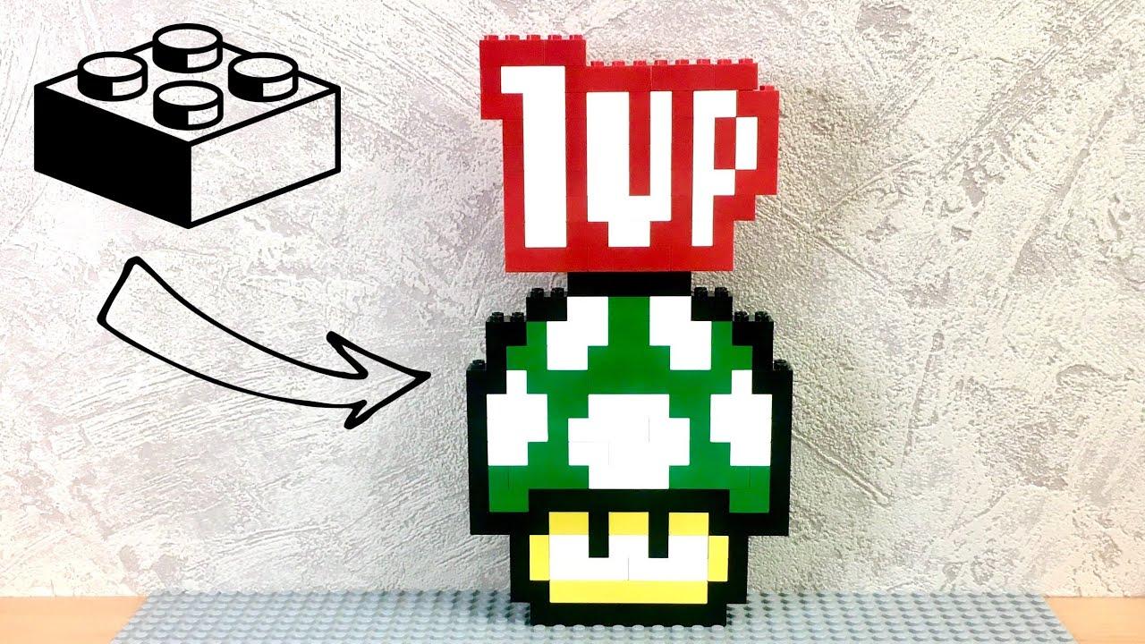 #2 Lego logo tutorial Super Mario