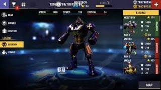 Real Steel Boxing Champions Mod Apk (Unlimted Coins&Gold)