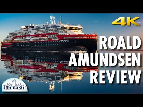 Roald Amundsen Tour & Roald Amundsen Review ~ Hurtigruten ~ Cruise Ship Tour & Review [4K Ultra HD]