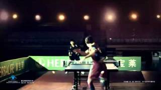 Messi play ping pong con Herbalife en china.