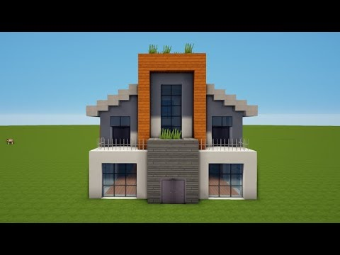 Modernes minecraft haus bauen tutorial haus 54 youtube for Minecraft modernes haus jannis gerzen