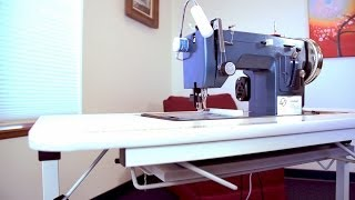 Ultrafeed Collapsible Sewing Table Demo
