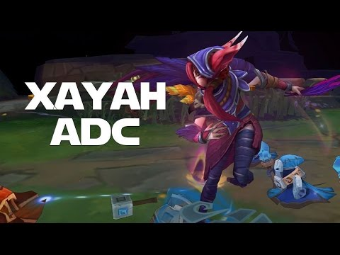 THE BIRD IS THE WORD! League of Legends - Xayah ADC w/ Rakan Support