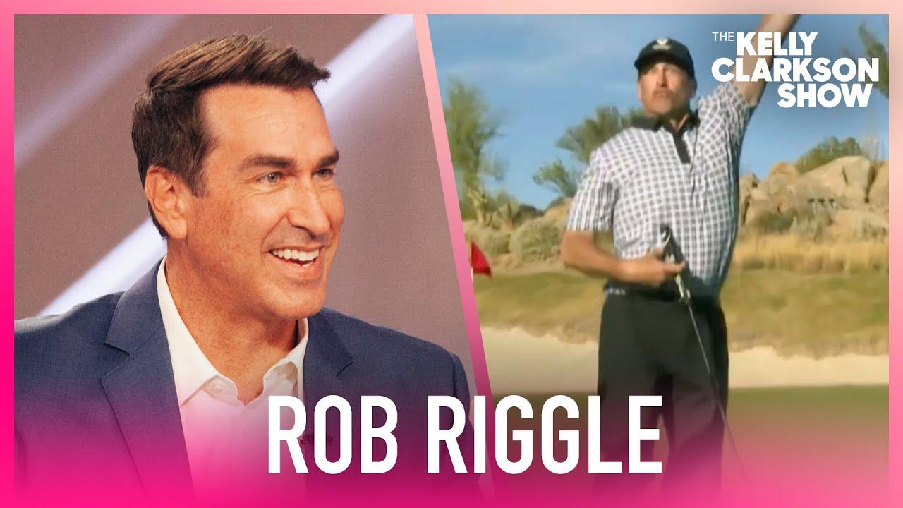 Watch Rob Riggle Nail A $100,000 Golf Putt